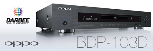 Lecteur Blu-ray Oppo BDP-103D