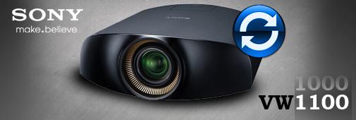 Mise à niveau Sony vpl-vw1000 pour le transformer en vw1100
