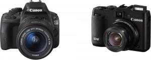 Canon G16 et EOS 100D