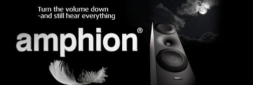 Enceintes Hi-Fi Amphion