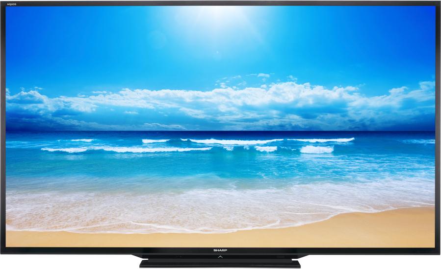 Une connectique ultra complète pour cet écran géant Sharp LC90LE757