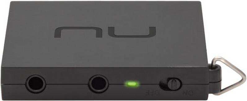 Les sorties Mini-jack de l'ampli portable NuForce MMP