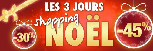 Les 3 jours Shopping Noël en magasins !