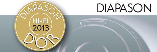Diapason d'or Hi-Fi 2013