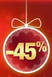 Jusqu'à -45% et bien plus encore !!!