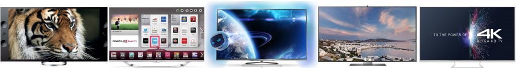 Lineup 2013-2014 des meilleurs TV UHD 4K