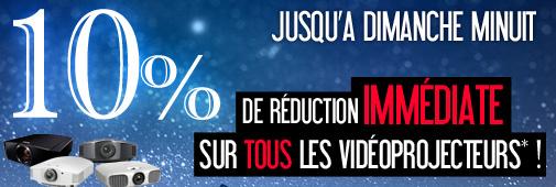 10% de remise sur tous nos vidéoprojecteurs !