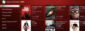 De la VOD en 4K Ultra HD pour très très bientôt
