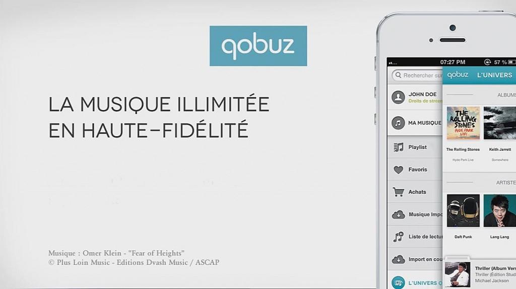 Abonnement-Qobuz