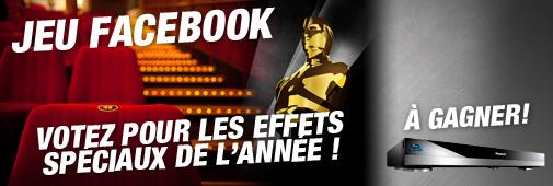 Jeu Cobrason : votez pour le film qui selon vous, mérite l'oscar des meilleurs effets spéciaux !