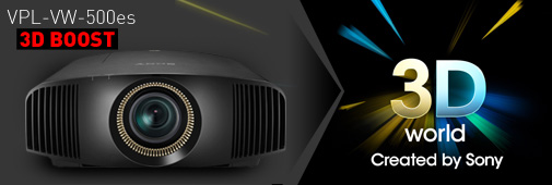 Vidéoprojecteur 3D Sony VPL-VW500ES