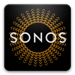 Le logo de l'application Sonos Controller