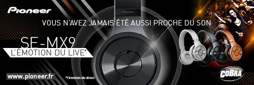 Nouveaux casques audio Pioneer !