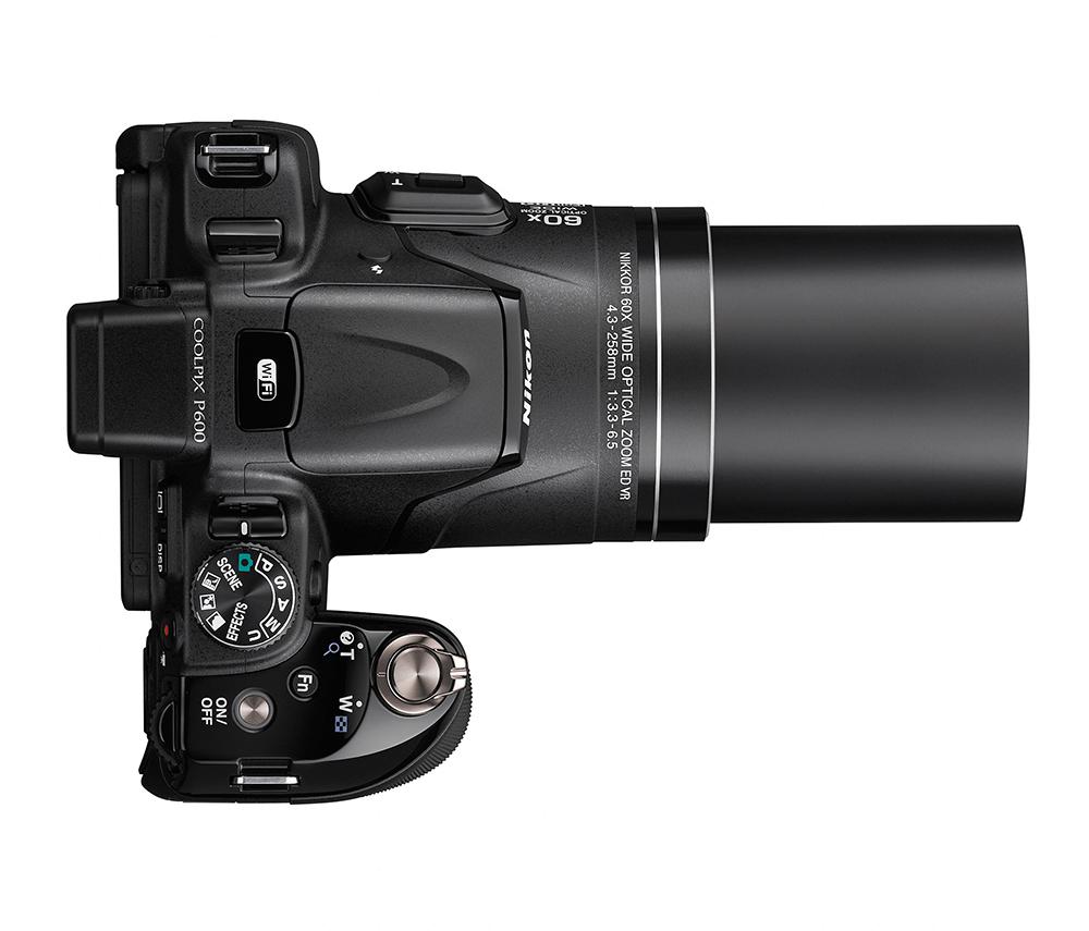 Nikon Coolpix P600-top
