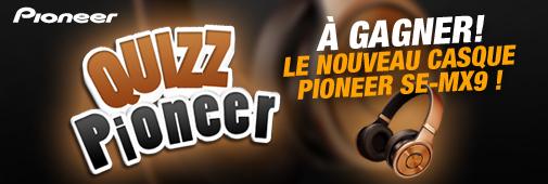 Gagnez un casque Pioneer SE-MX9
