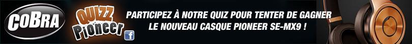 Répondez au Quiz pour participer au tirage au sort final !