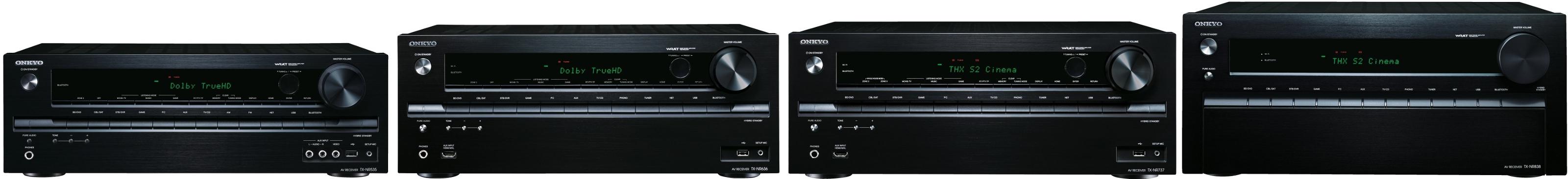 onkyo tx-nr535, tx-nr636, tx-nr737 et tx-nr838