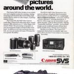 Le Canon RC-701 (1986) - Réclame