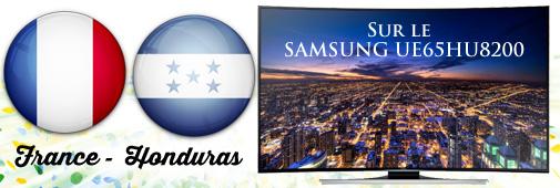 samsung hu8200 : France - Honduras