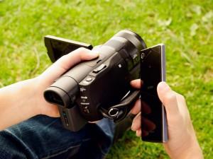 Sony FDR-AX100E NFC