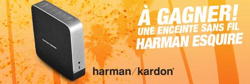 Quiz Cobrason : gagnez une enceinte Harman Esquire !