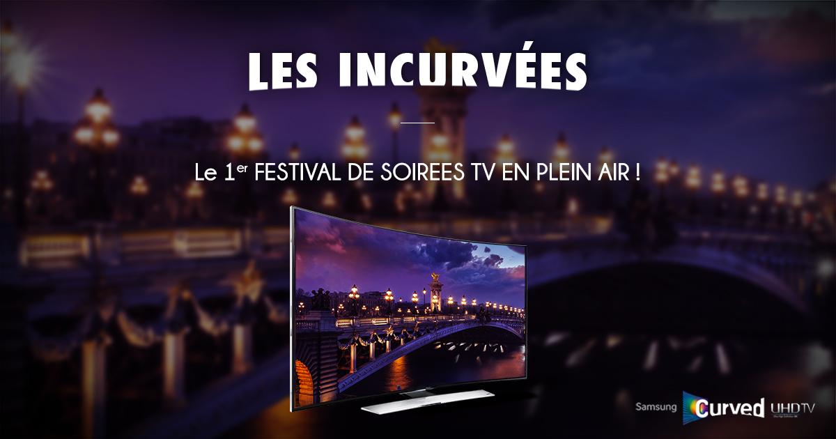 Les Incurvées - Festival des soirées Tv