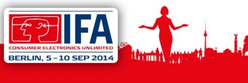 Bandeau IFA Berlin 2014