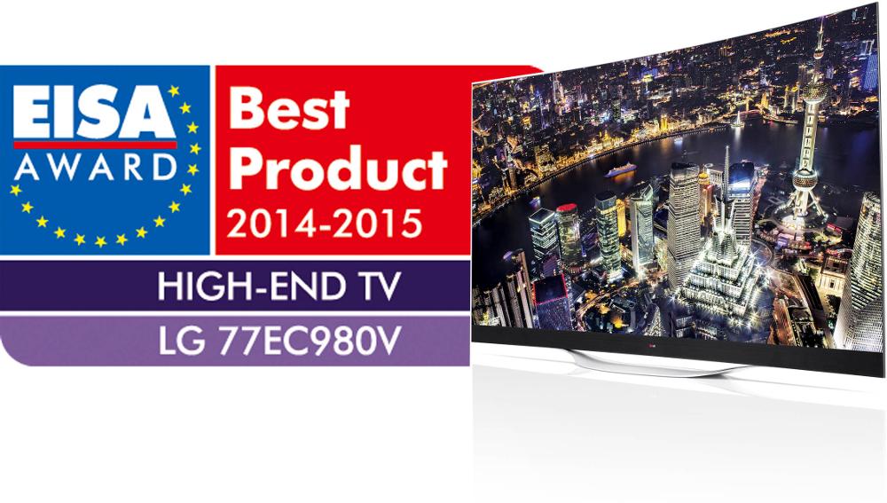 Prix EISA 2014-2015 LG 77EC980V