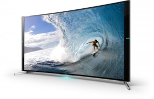 TV Ultra HD 4K incurvé Sony S9000B