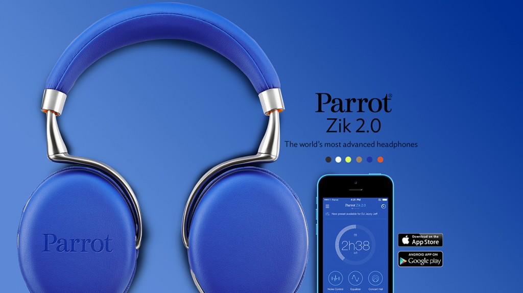 Parrot Zik 2.0 Blue