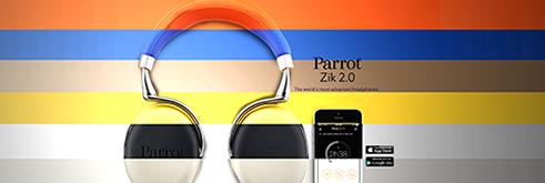 Le PARROT ZIK 2.0