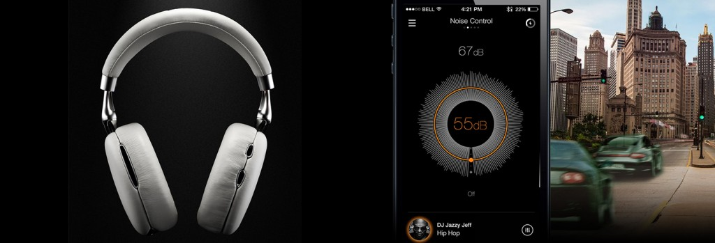 Parrot Zik 2.0 - Application - Adaptative Noise Control