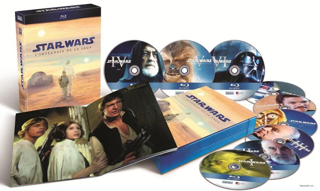 Coffret Blu-Ray Star-Wars-Intégrale