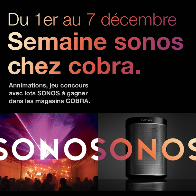 SONOS YOUR WEEK !