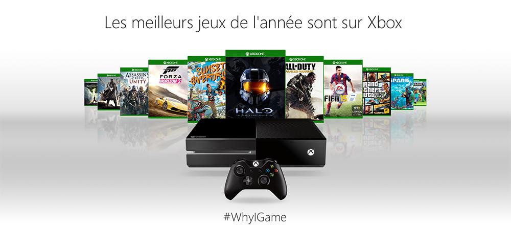 Microsoft Xbox One - #WhyIGame
