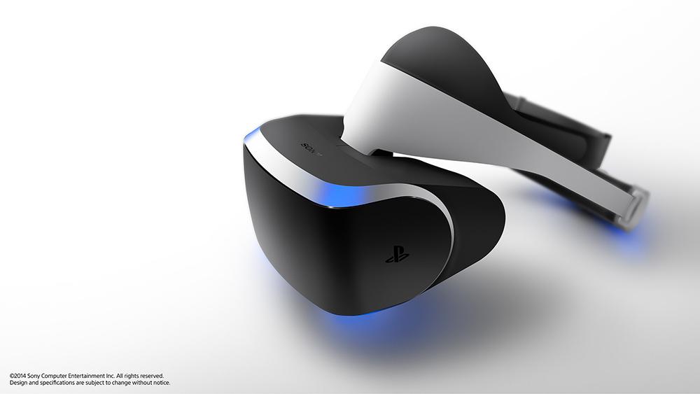 Casque / lunettes de réalité virtuelle Sony Playstation Project Morpheus