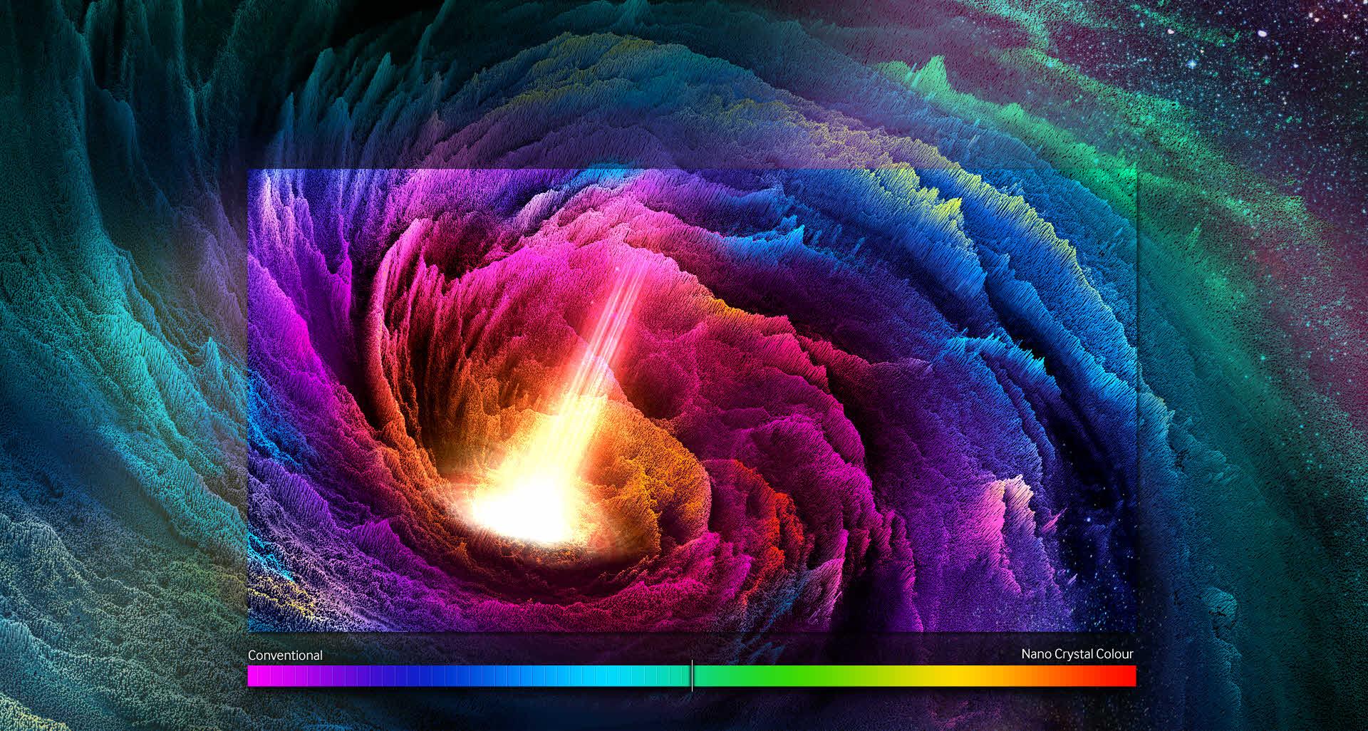 Découvrez la puissance des nanocristaux Samsung SUHD