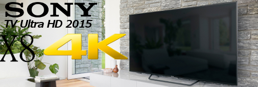 sony tv ultra hd 2015 série x8