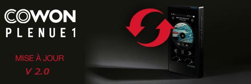 Cowon : mise à jour firmware 2.0