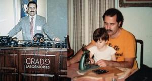 John Grado et son fils Jonathan !