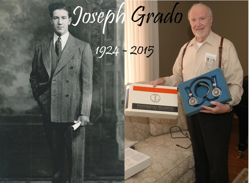 RIP Joseph Grado (1924 - 2015)