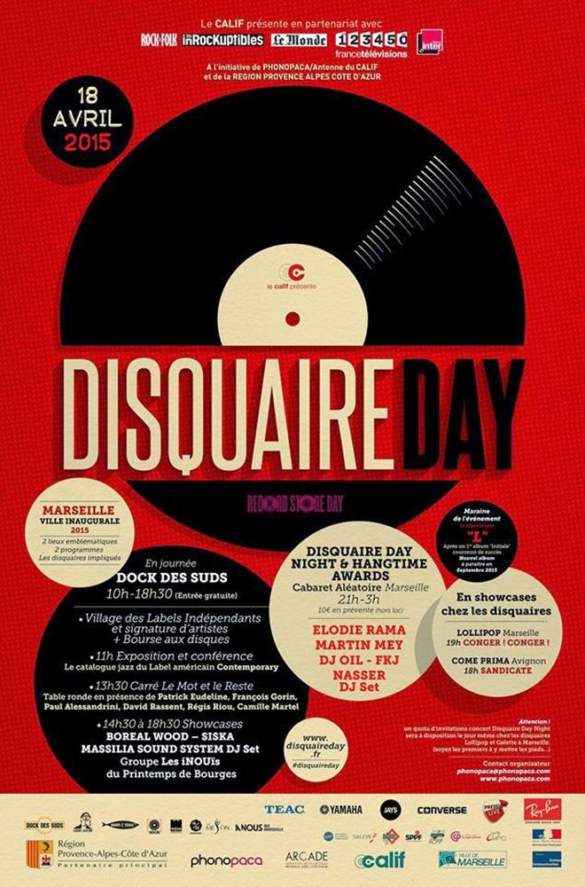 Disquaire Day Marseille 2015