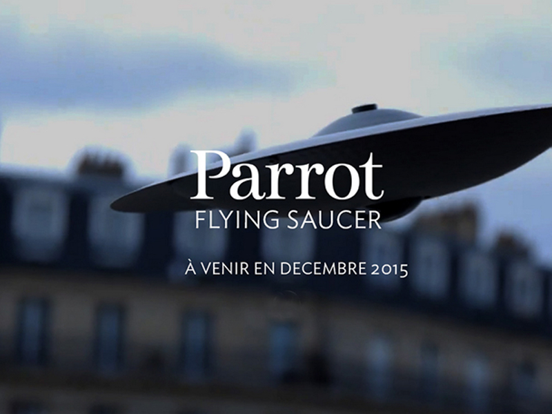 parrot flying saucer