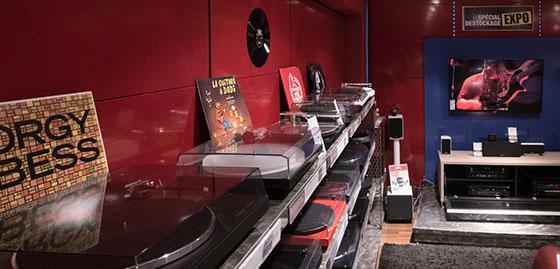 Espace platines vinyle Cobra