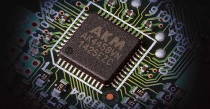 DAC Asahi Kasei intégrés sur le Onkyo 646