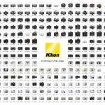 Appareils Photo Nikon depuis 1948 à 2008