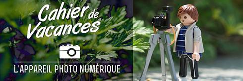 Cahier de vacances: L'appareil photo numérique (491)