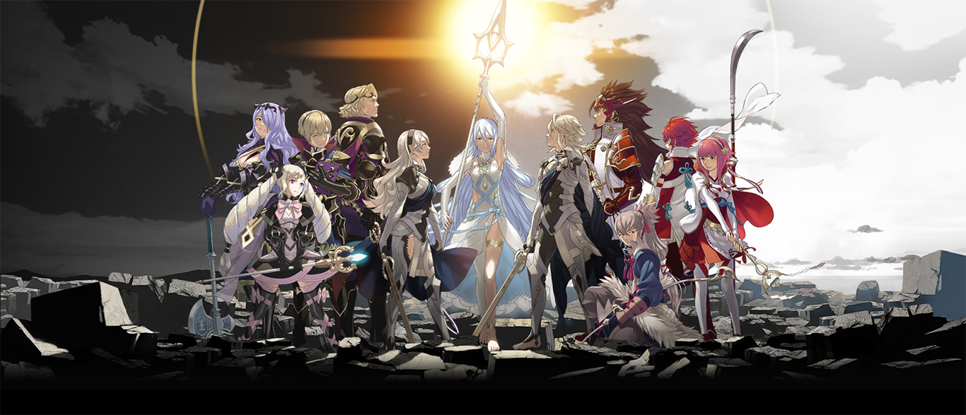 Fire Emblem Fates 2016 3DS