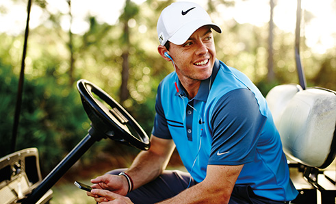 Rory McIlroy en Bose Freestyle