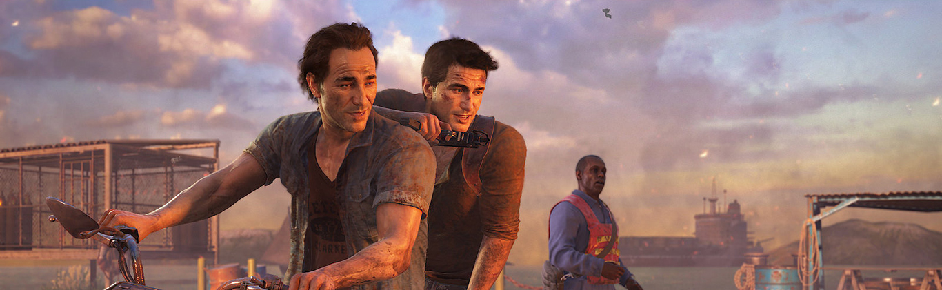 Uncharted 4 : A thief's End : 2015 Sony PS4